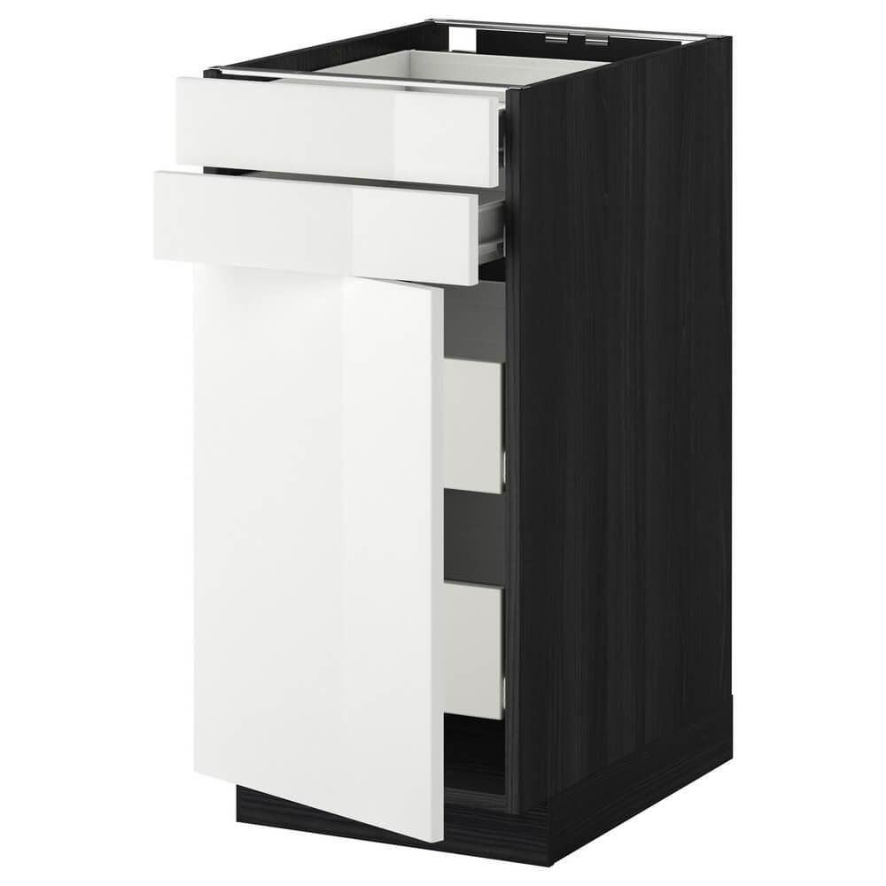 Напольный шкаф (2 фронтальные панели, 2 низки и 2 средних ящика) МЕТОД / ФОРВАРА