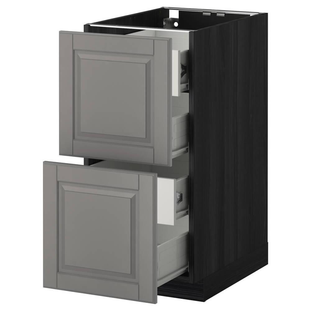 Напольный шкаф (2 фронтальные панели и 4 средних ящика) МЕТОД / ФОРВАРА