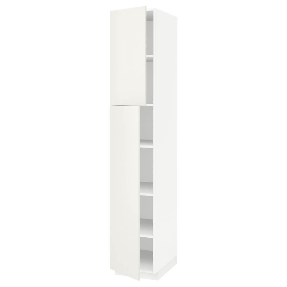 Высокий шкаф (полки и 2 дверцы) МЕТОД