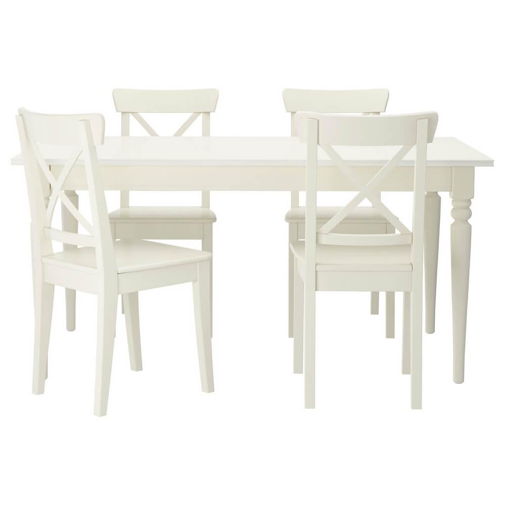 Стол и 4 стула ИНГАТОРП / ИНГОЛЬФ