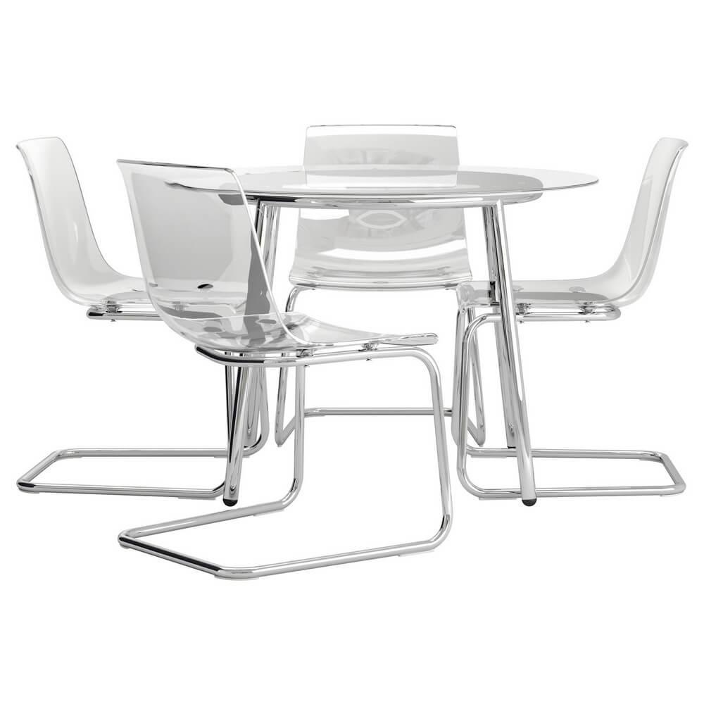 Стол и 4 стула САЛЬМИ / ТОБИАС