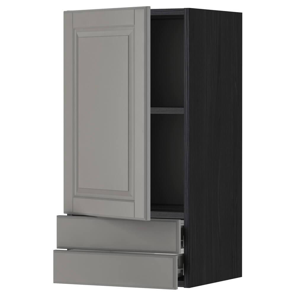 Навесной шкаф с дверцей и 2 ящиками МЕТОД / ФОРВАРА
