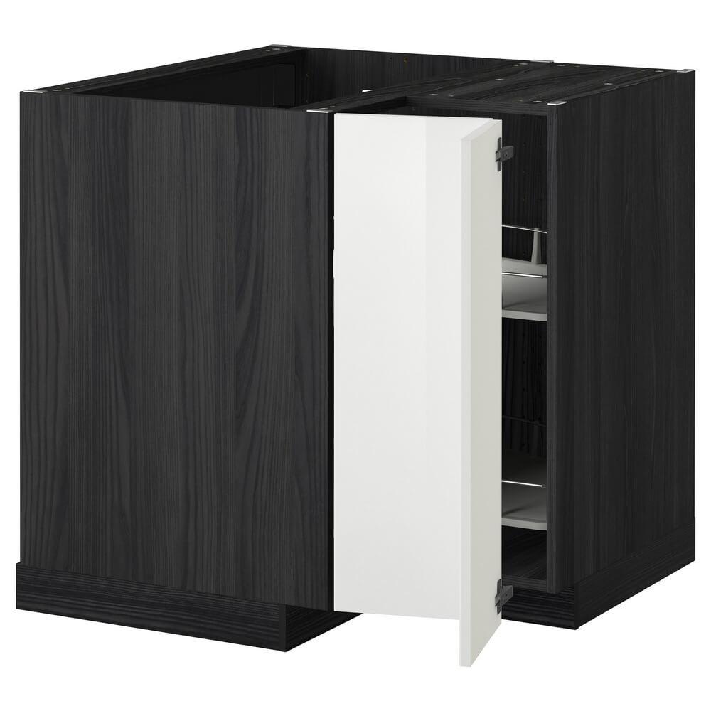 Угловой напольный шкаф с вращающейся секцией МЕТОД