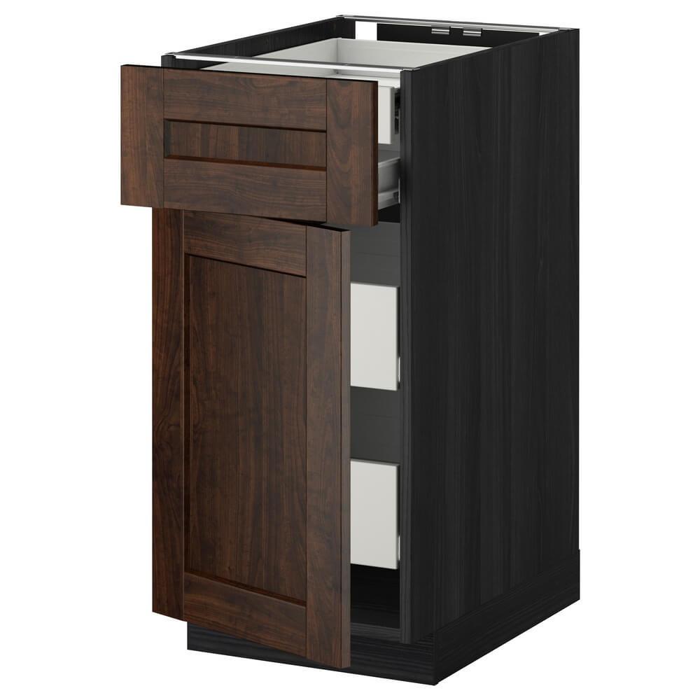 Напольный шкаф (дверцы, 2 низких и 2 средних ящика) МЕТОД / ФОРВАРА