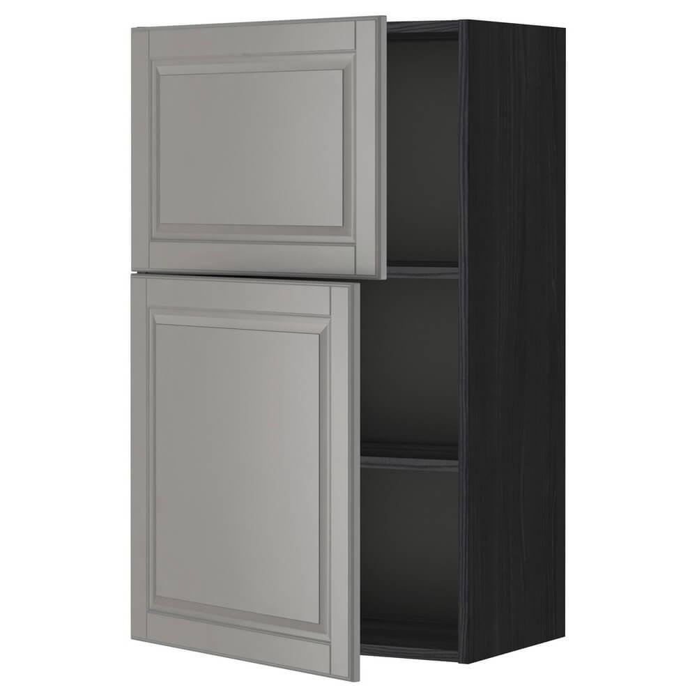Навесной шкаф с полками и 2 дверцами МЕТОД