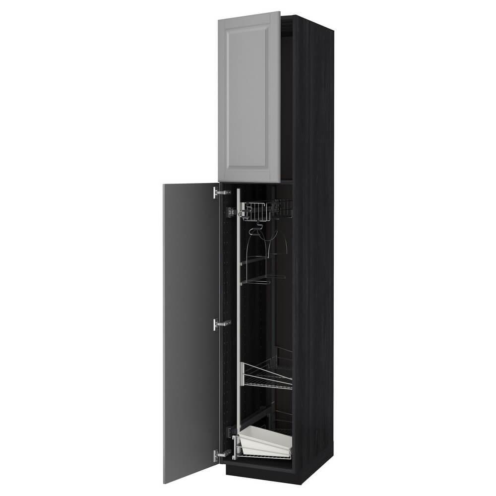 Высокий шкаф с отделением для аксессуаров для уборки МЕТОД