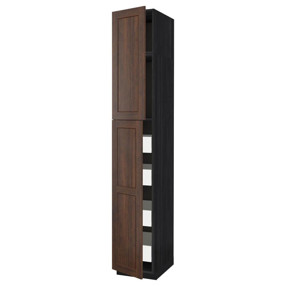 Высокий шкаф (2 дверцы и 4 ящика) МЕТОД / ФОРВАРА