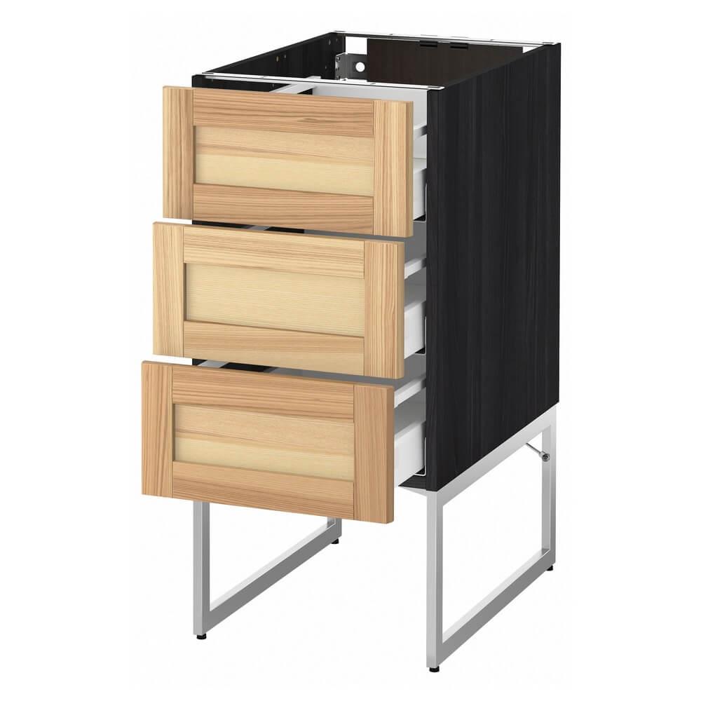 Напольный шкаф (3 фронтальных и 3 средних ящика) МЕТОД / МАКСИМЕРА