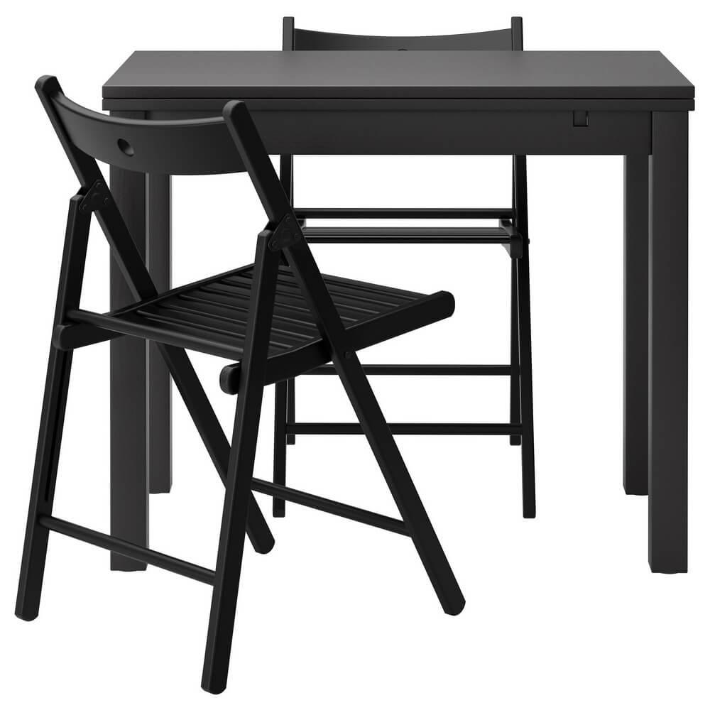 Стол и 2 стула БЬЮРСТА / ТЕРЬЕ