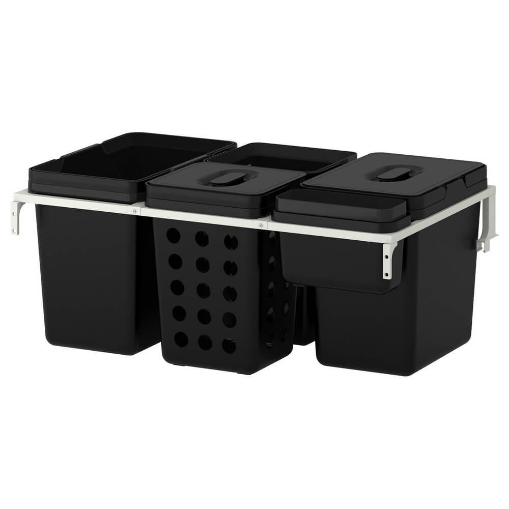 Мусорные контейнеры для шкафа ВАРЬЕРА / УТРУСТА
