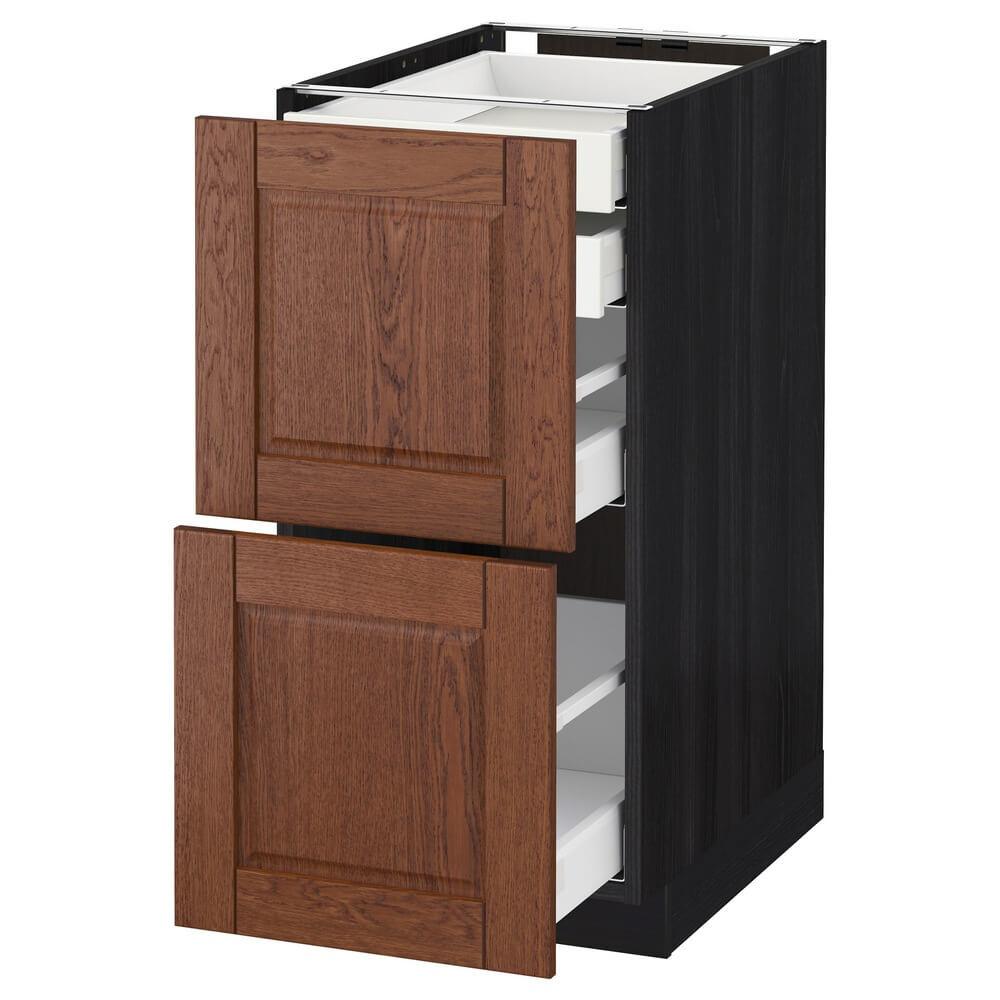 Напольный шкаф (2 фронтальные панели, 2 низких, 1 средний и 1 высокий ящик) МЕТОД / МАКСИМЕРА