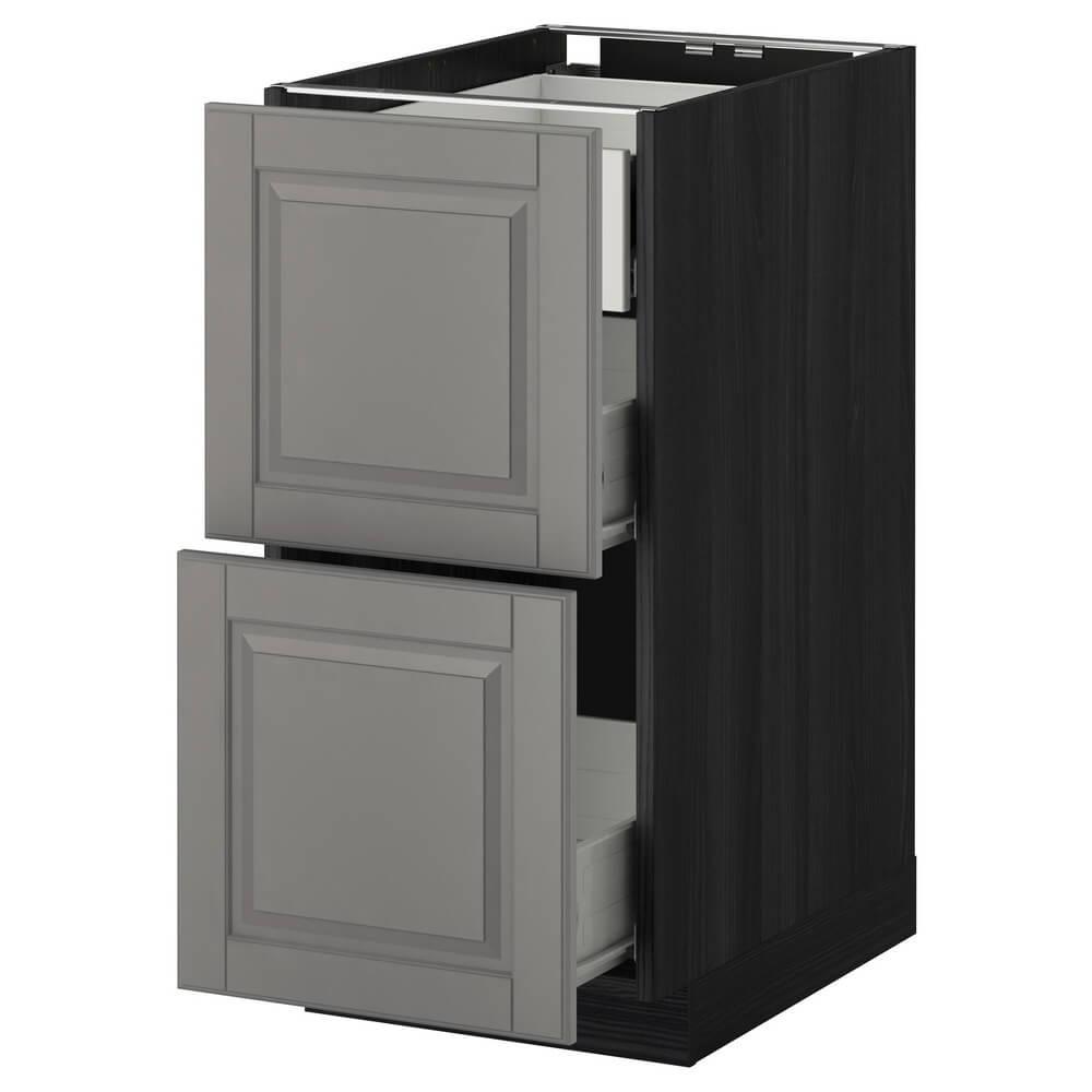 Напольный шкаф (2 фронтальными панелями и 3 средними ящиками) МЕТОД / ФОРВАРА