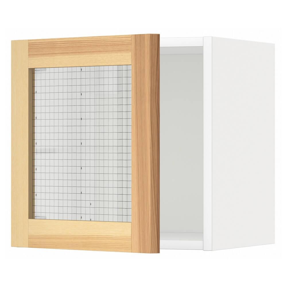 Навесной шкаф со стеклянной дверцей МЕТОД