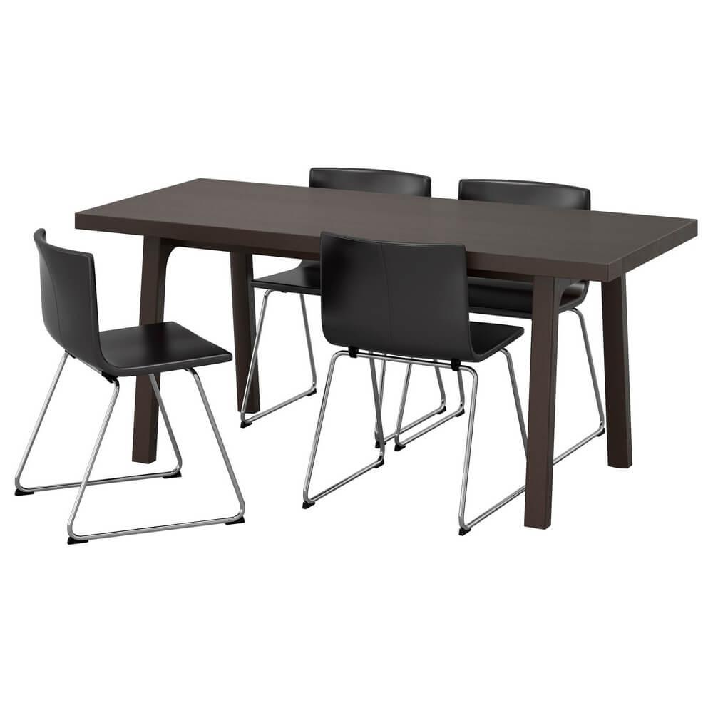 Стол и 4 стула ВЭСТАНБИ/ВЭСТАНО / БЕРНГАРД