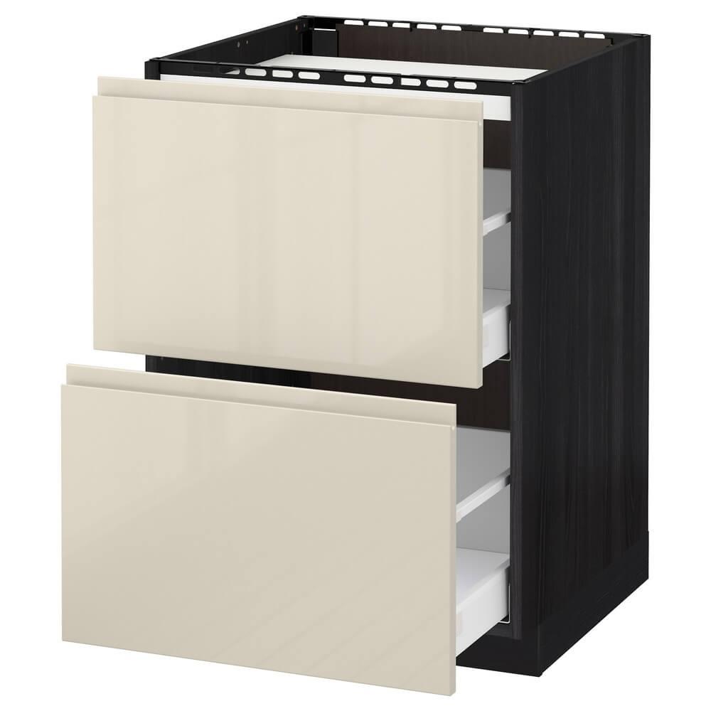 Напольный шкаф (2 фронтальные панели и 3 ящика) МЕТОД / МАКСИМЕРА