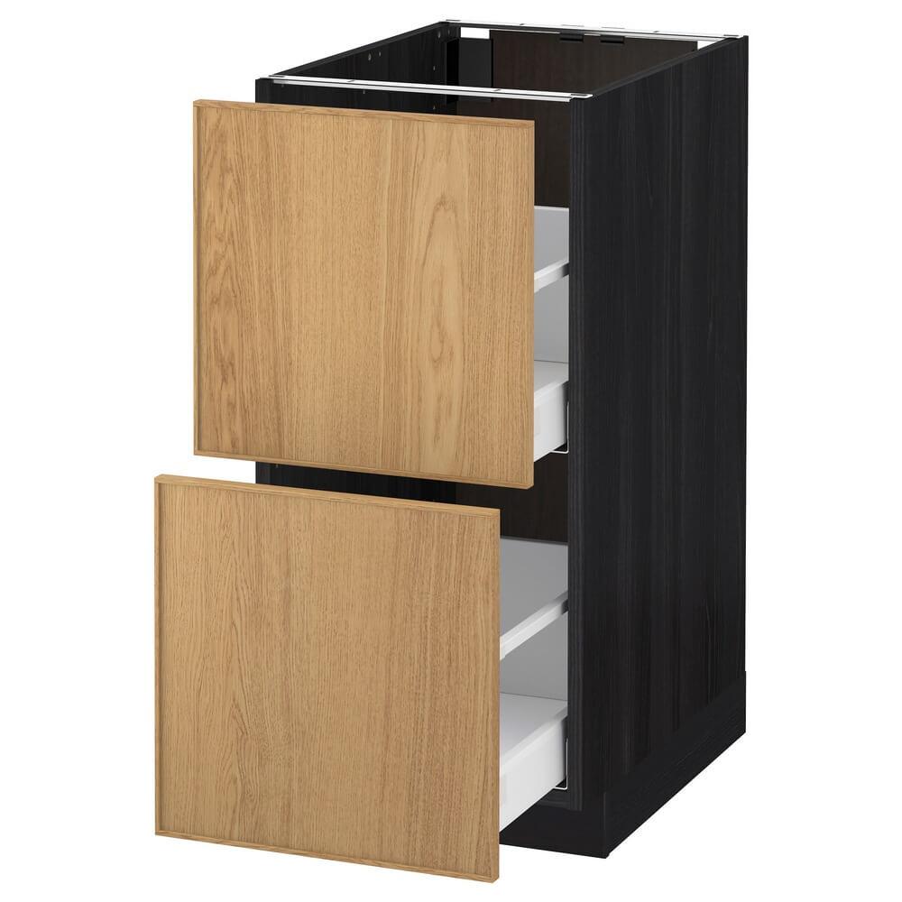 Напольный шкаф (2 фронтальные панели и 2 высоких ящика) МЕТОД / МАКСИМЕРА