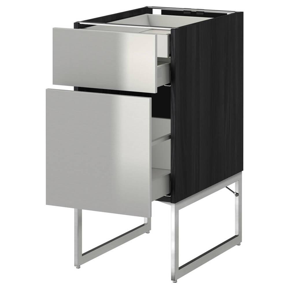 Напольный шкаф (2 фронтальные панели, 2 низких и 1 высокий ящик) МЕТОД / МАКСИМЕРА