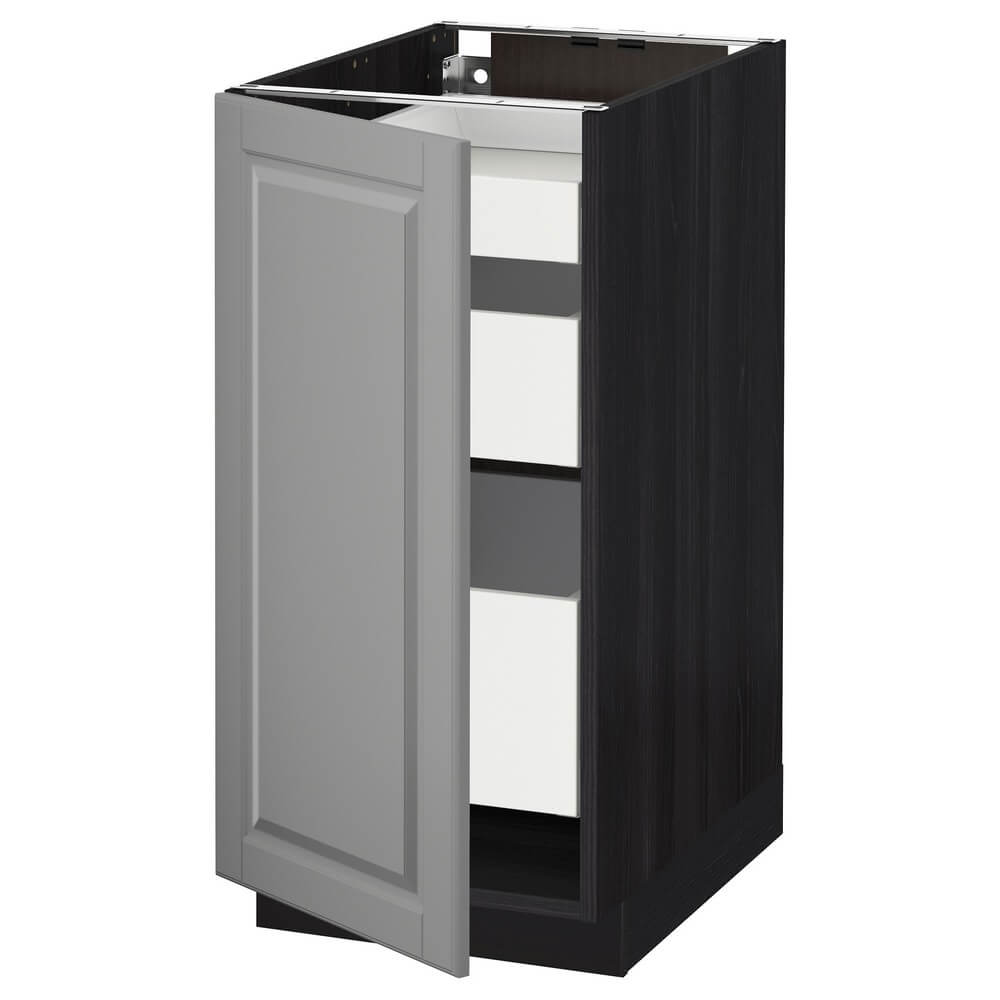 Напольный шкаф с 1 дверью и 3 ящиками МЕТОД / МАКСИМЕРА