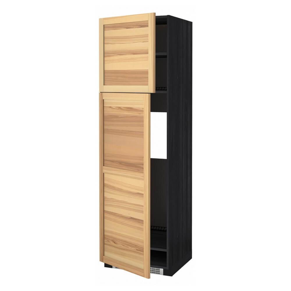 Высокий шкаф для холодильника с 2 дверцами МЕТОД
