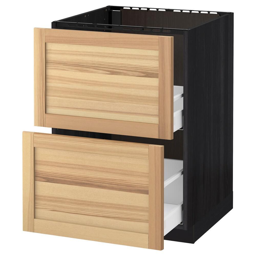 Напольный шкаф под мойку (2 фронтальные панели и 2 ящика) МЕТОД / МАКСИМЕРА