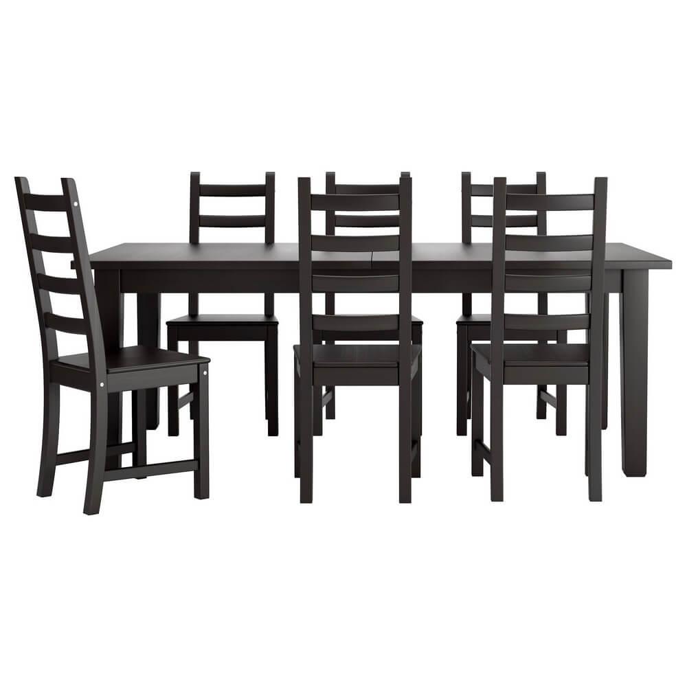 Стол и 6 стульев СТУРНЭС / КАУСТБИ