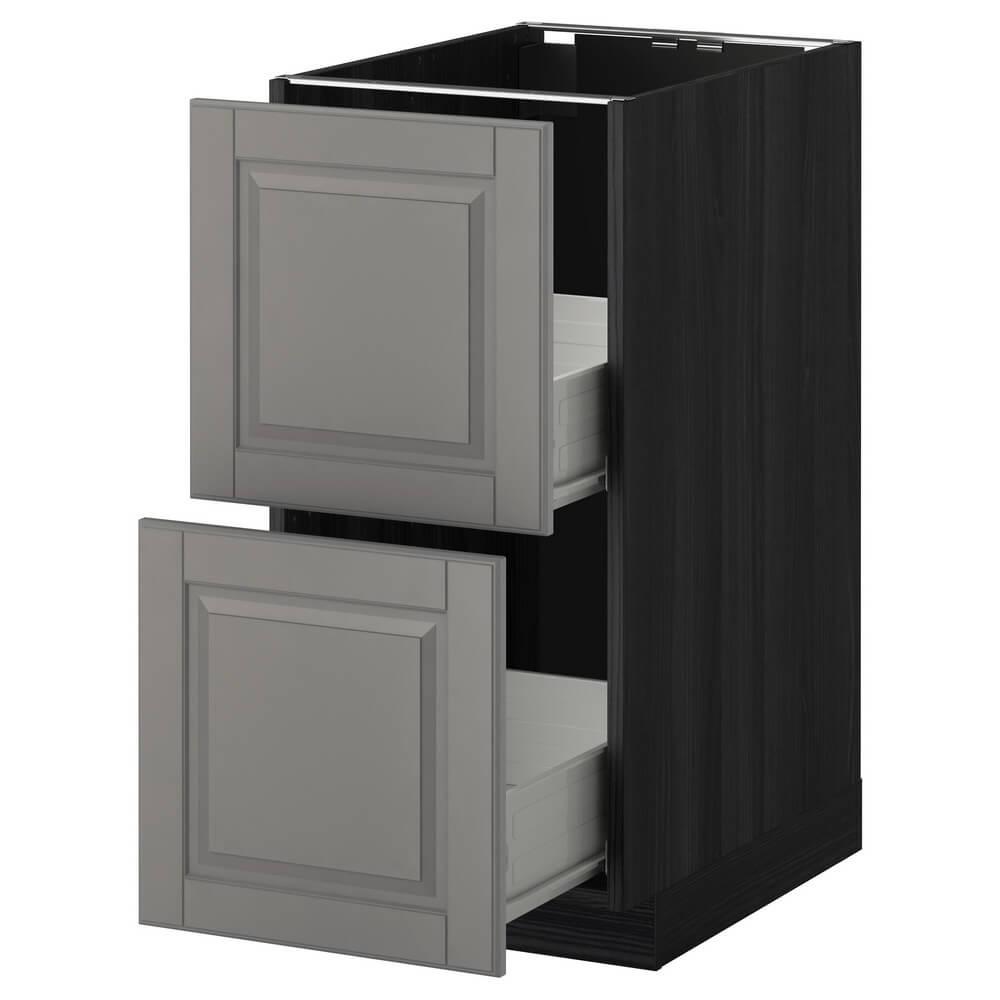 Напольный шкаф (2 фронтальные панели и 2 средних ящика) МЕТОД / ФОРВАРА