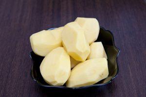 Мытый картофель
