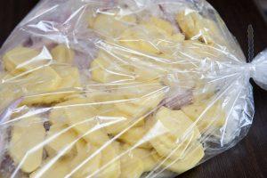 Картофель в пакете