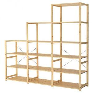 ИВАР 3 секции/полки IKEA