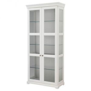 ЛИАТОРП Шкаф-витрина IKEA
