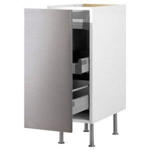 ФАКТУМ Напольный шкаф с выдвижной секцией IKEA Ящики со стопором
