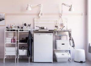 На кухне есть все необходимое