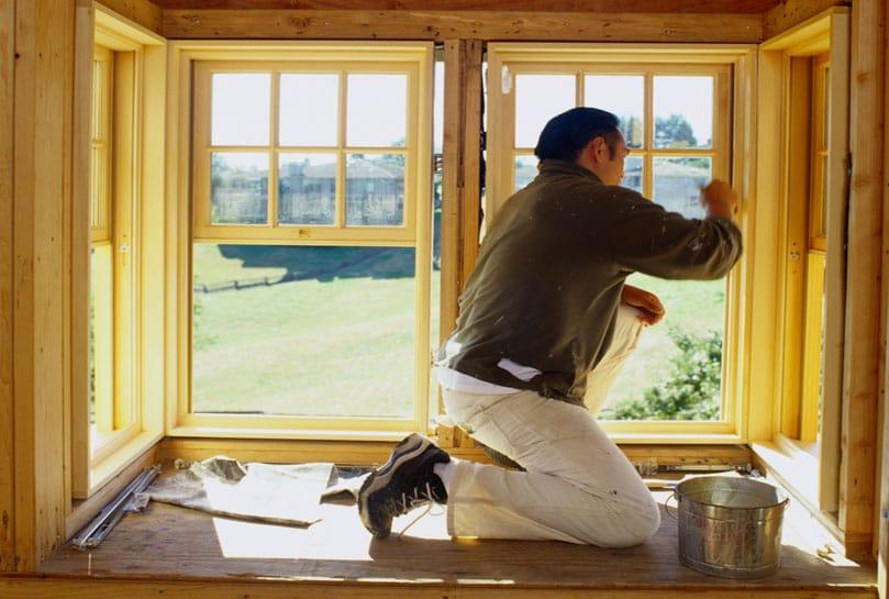 Самостоятельный ремонт деревянных окон