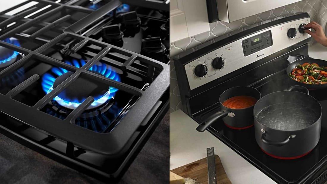 Газ или электричество на кухне