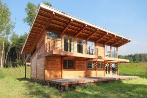 Архитектура деревянных домов