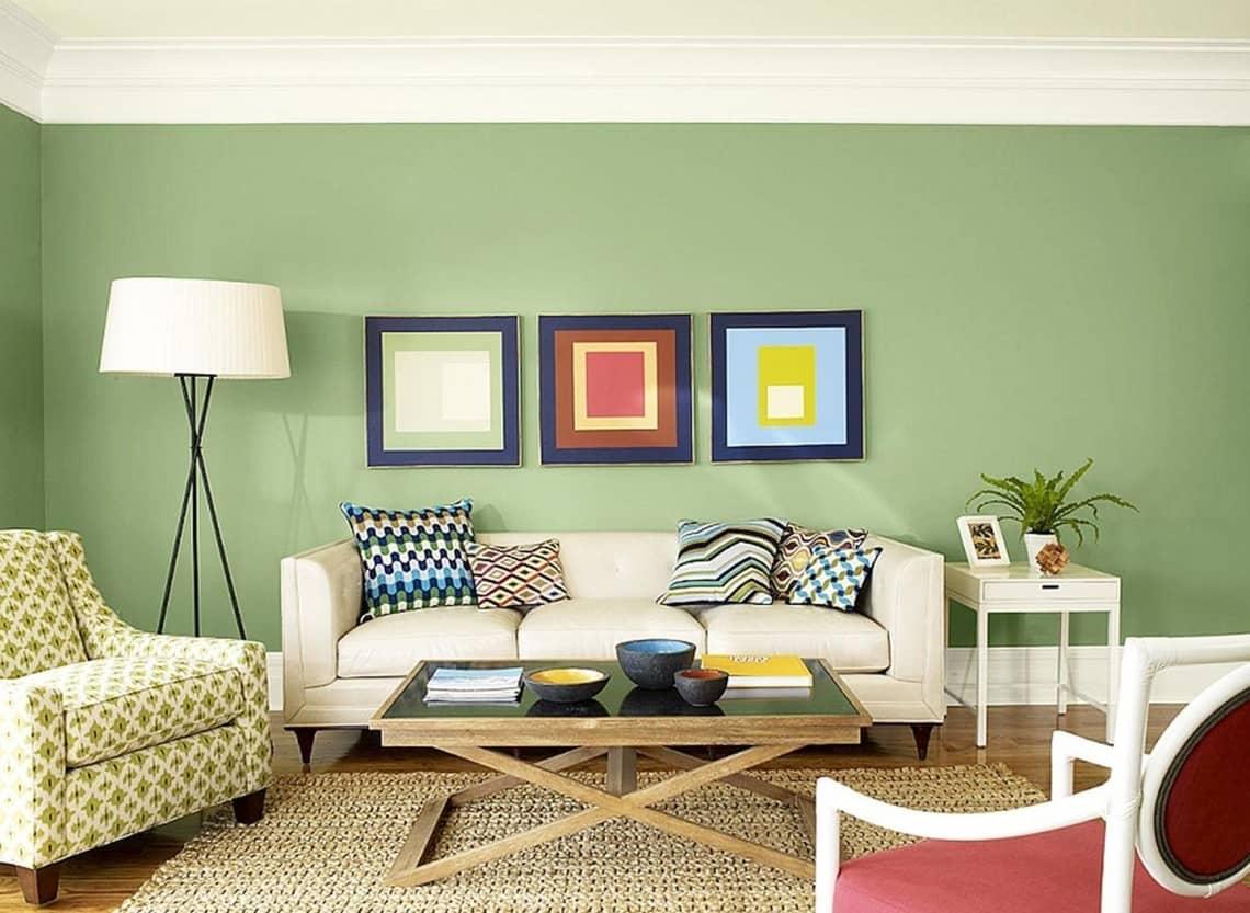 Как выбрать цветовое оформление гостиной