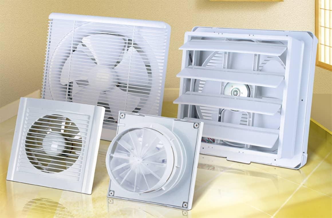 Вытяжной вентилятор в квартире