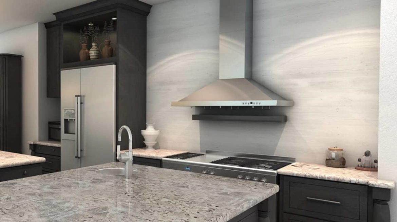 Устройство вентиляции на кухне