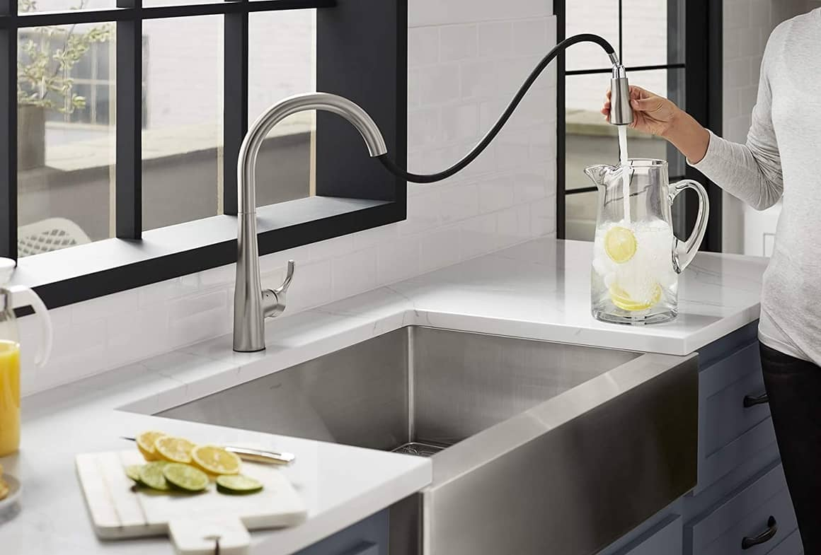 3 совета по выбору кухонного смесителя и мойки
