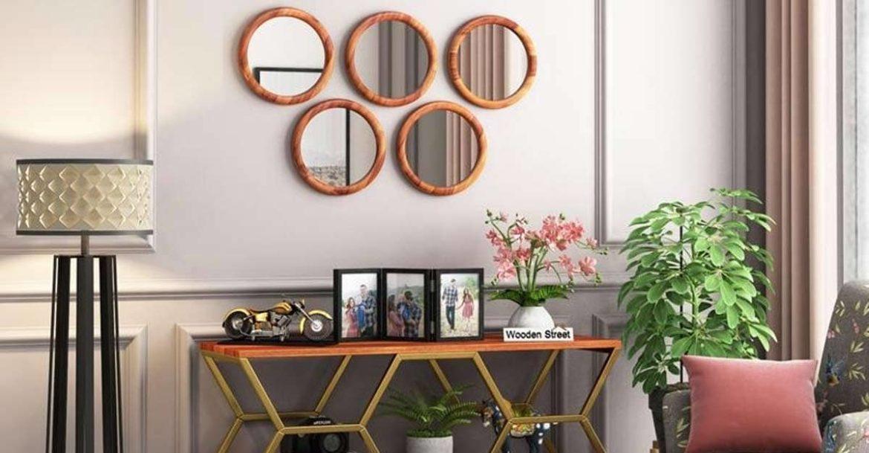 Дизайн настенных зеркал: самые красивые предложения