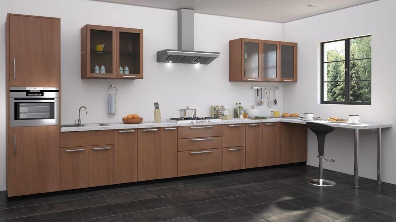 Идеи дизайна для минималистичных прямых кухонь