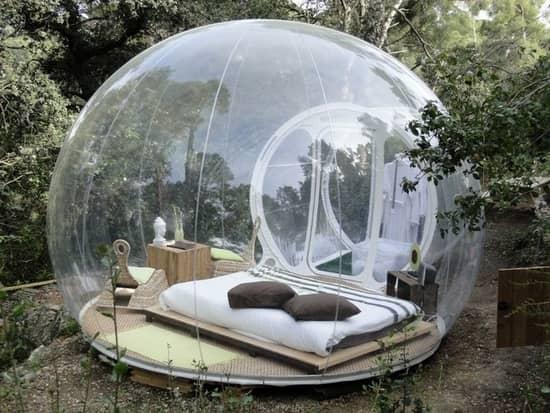 Беседка-пузырь - писк моды последних лет