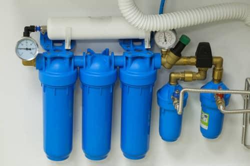 Подобная система фильтрации удобна и не занимает лишнего места