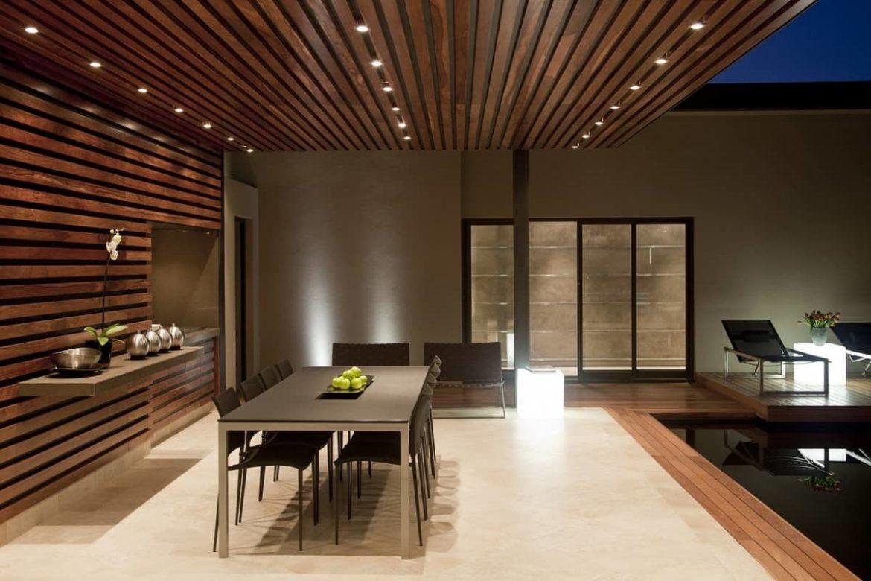 Потолок из планкена: выбор материала и монтаж