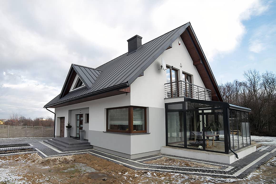Дизайн традиционного дома с современными нотками