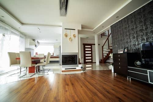 Общий интерьер дома